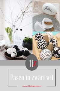 """""""11 keer Pasen in zwart wit ideeen van Pinterest blog afbeelding"""""""