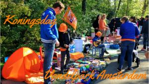 """""""Koningsdag vondelpark Amsterdam"""""""