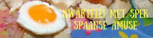 """""""Kwartelei met spek - Spaanse amuse - mels feestje - berichten foto"""""""