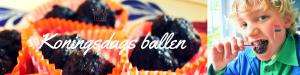 """Logo Koningsdag ballen - oma's gehaktballen - recept - mels Feestje"""