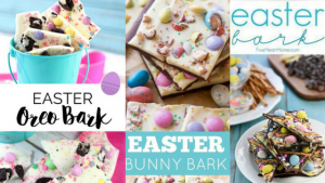 """Pasen chocolade brokken Eater Bunny bark"""