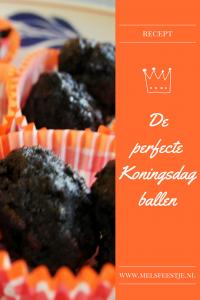 """""""Recept - De perfecte Koningsdag ballen - mels feestje"""""""