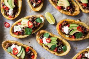 Aardappellen mexicaanse style