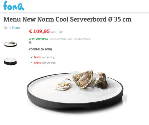 Cool Serveerbord het bord wordt koud gehouden! Serveerschaal serveerbord voor je oesters - hoe geniaal - Fonq & Mels Feestje