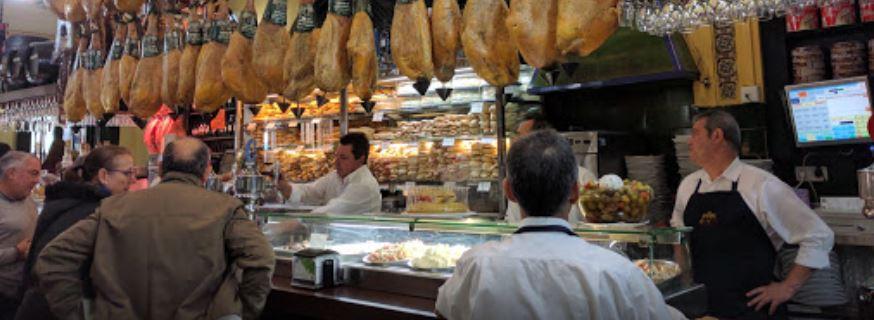 El Patio Sevilla - beste broodjes van Sevilla - prima voor ontbijt - Mels Feestje