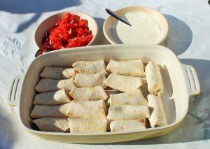 Mexicaanse verjaardagshapjes - Mini burritos - hapjes - Mels Feestje
