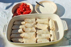 "Mexicaanse verjaardagshapjes - Mini burrito - hapjes - Mels Feestje"""