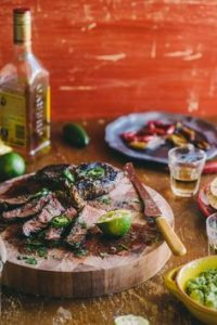 Tequila gemarineerde steak""