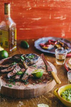 Tequila gemarineerde steak