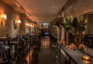 Blu on Park - binnenkant - beste steak van new York - huiswijn mate happy hour $8 - mels Feestje en New York