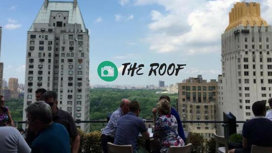 Instagram fotos - plekken in New York waar we een foto moeten maken - deze is op The Roof met uitzicht over central Park - ik wil ook echt deze plek hebben - Mels Feestje