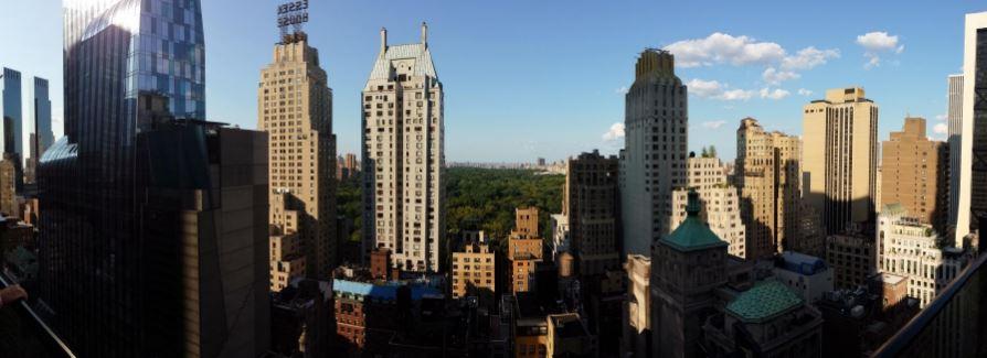 The roof uitzicht Centra Park