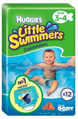 Huggies Little swimmers medium (7-15 kg) 12 stuks E7.49 bij de AH