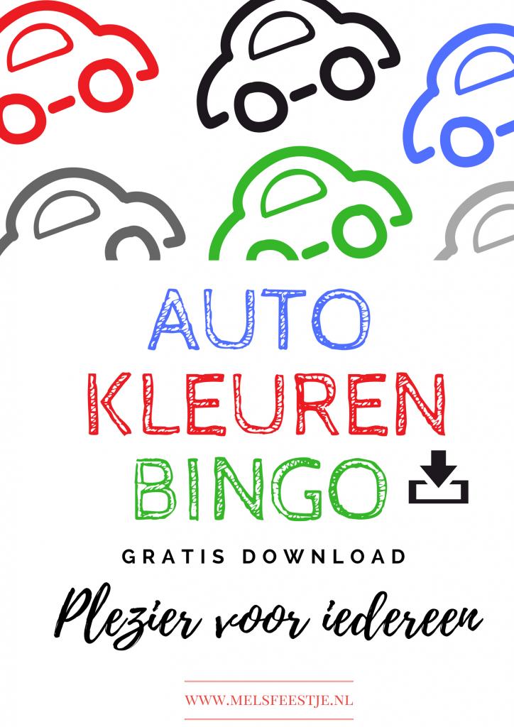 Download Gratis de Auto Kleuren Bingo! Voor Onderweg plezier voor iedereen. Verschillende Kleuren Auto Bingo spellen, zo dat iedereen mee kan doen. Groene, Rode en zwarte auto's, welke zal je het meeste zien en wie wint er? Veel plezier! Mels Feestje & Zomervakantie