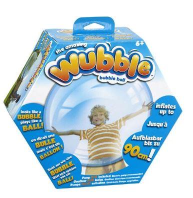 Grote Wubble Bal. Leuk cadeau voor onderweg! En super leuk om mee op de camping te spelen.