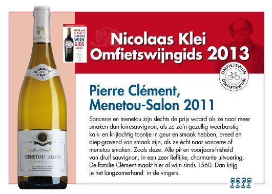Pierre Clement Omfietswijn. Wat zijn de beste wijnen van de Sancerre en omgeving