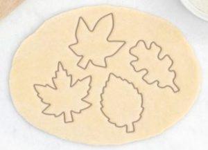 Koekjesvormen. Bij Etsy kan je super leuke leaf cookie cutters kopen.