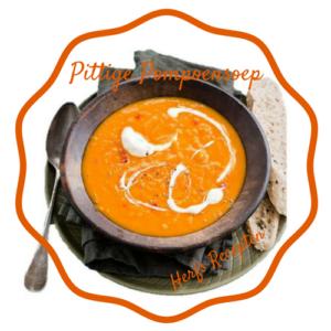 Herfst Recepten Pittige pompoensoep. Romige soep met lekker veel pit door de rode peper. Om het warm van te krijgen. Makkelijk recept met mooie oranje herfstkleuren & herfstsmaken. Pittig en romig. Mooie foto van een bord pompoensoep. Van het bericht 10x Herfst Sfeer Creëren met Mels Feestje. Herfst#2. Eten & drinken