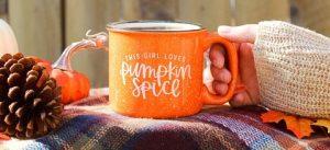 Herfst mokken ? Pumpkin spice herfst mok