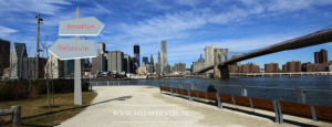 Zo vlak voor de NY marathon een hele kleine fiets route door Brooklyn New York - met natuurlijk de beste plekjes uitzicht skyline en een rooftopbar en Instagram plekjes - Mels Feestje en New York