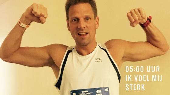 05:00 uur ik voel mij sterk - De New York marathon 2017 - Vincent Bonninga