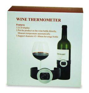 Wijnthermometer. een te gek cadeau voor een wijnliefhebber! en te leuk voor sinterklaas