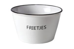 ak voor frietjes 13cm - Dobbelspel cadeau