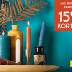 Kaarsen als sinterklaas cadeau - cadeau ideeen Sinterklaasavond