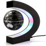 Cadeau tiener sinterklaas - Magnetische Zwevende Wereldbol - Met LED verlichting